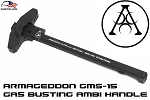 AR15 GMS-15 Gen II Charging Handle Black Anodize